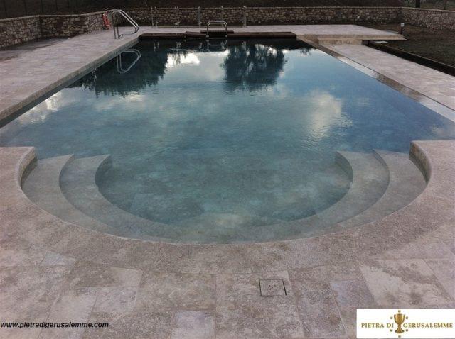 Rivestimenti per piscine in pietra