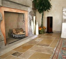 Fireplaces in natural Jerusalem stone