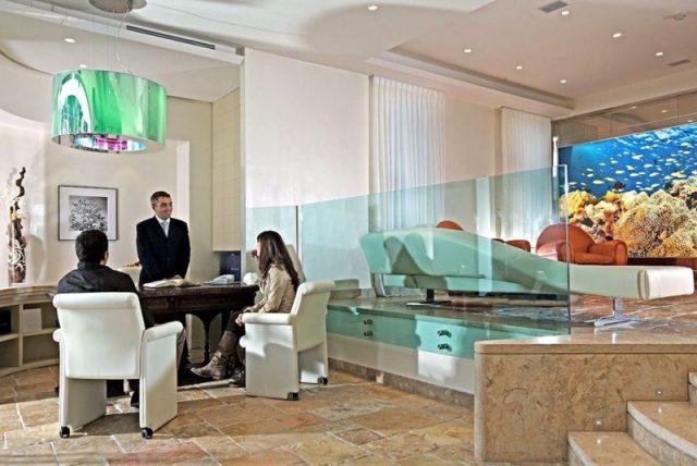 Steinböden für Hotels und Wellnesscenter