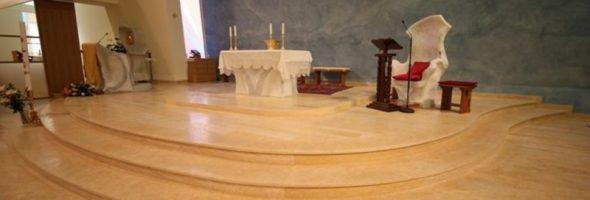 kamnita tla za cerkev
