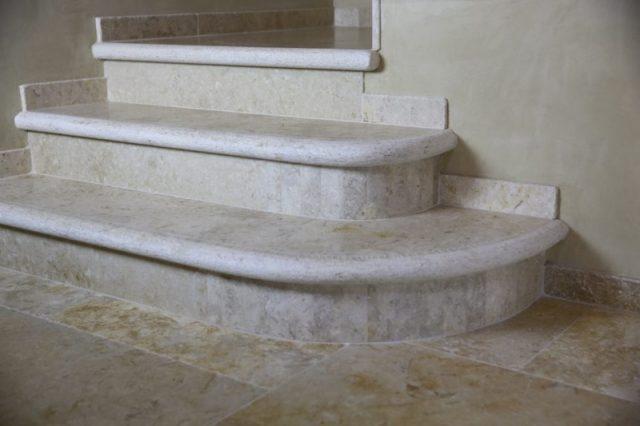 Antike Treppe in Jerusalem Stein